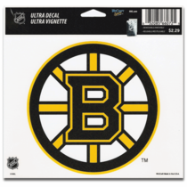 Boston Bruins 5x6 Ultra Decal