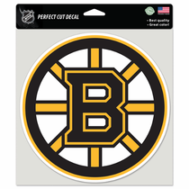 Boston Bruins 8x8 Die Cut Sticker