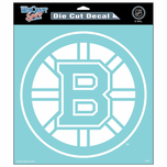 "Boston Bruins 8x8"" Die Cut Window Sticker"