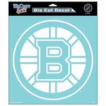 Boston Bruins 8x8 Die Cut Window Sticker