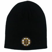 Boston Bruins Black Beanie