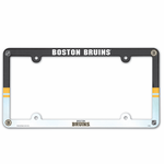 Boston Bruins Plastic License Plate Frame