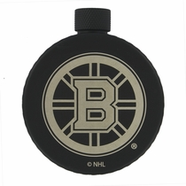 Boston Bruins Puck Flask