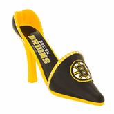 Boston Bruins Team Shoe Wine Bottle Holder