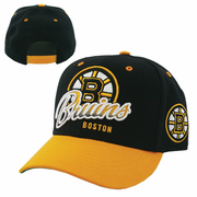 "Boston Bruins ""Tricky Lou"" Snap-Back Cap"