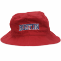 Boston Bucket Hat (Red)