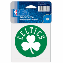 Boston Celtics 4x4 Die Cut Sticker