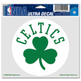 Boston Celtics 5x6 Circle Shamrock Ultra Decal