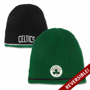 Boston Celtics Black-Green Reversible Beanie