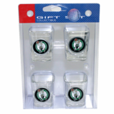 Boston Celtics Premium Square Shot Glass Set
