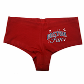 Boston Fan Booty Shorts (Red)