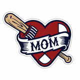 Boston Heart Mom Sticker