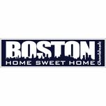 Boston Home Sweet Home Sticker