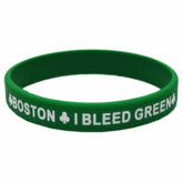 Boston I Bleed Green Bracelet