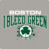 Boston  I Bleed Green T-Shirt