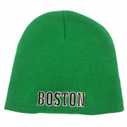 Boston Knit Winter Hat (Green)