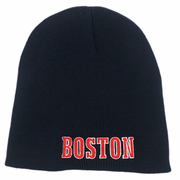 Boston Knit Winter Hat (Navy)