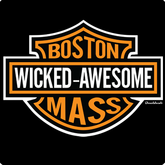 Boston Mass Wicked Awesome T-Shirt