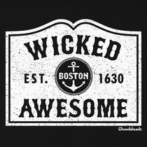 Boston Mass Est. Wicked Awesome T-Shirt