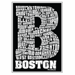 Boston Neighborhood Sticker