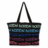 Boston Neon Beachbag - Large