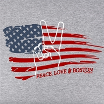 Boston Peace Flag T-Shirt