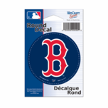 "Boston Red Sox 3"" Round B Sticker"