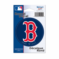Boston Red Sox 3 Round B Sticker