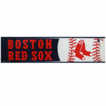 Boston Red Sox 3x12 Bumper Sticker