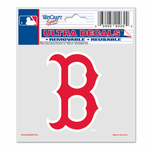 "Boston Red Sox 3x4 Mini ""B"" Ultra Decal"