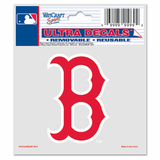 Boston Red Sox 5x6 B Ultra Decal