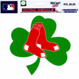 Boston Red Sox 5x6 Shamrock Ultra Decal