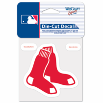 Boston Red Sox 8x8 Double Sox Die Cut Sticker