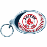 Boston Red Sox Acrylic Key Ring (Oval)