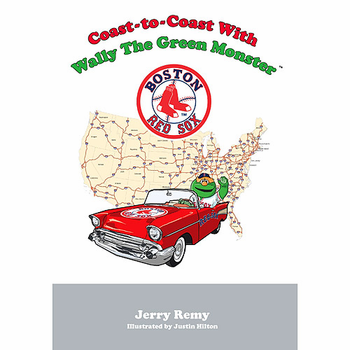 Boston Red Sox - Coast to Coast with Wally the Green Monster Book