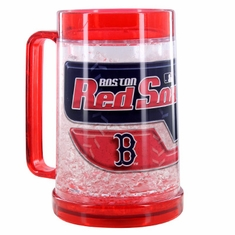 Boston Red Sox Crystal Freezer Mug