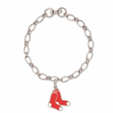 Boston Red Sox Double Sox Charm Bracelet