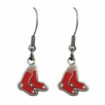 Boston Red Sox Double Sox Earrings