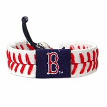 Boston Red Sox Leather Bracelet