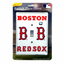 Boston Red Sox Light Switch Plate
