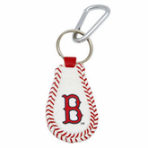 Boston Red Sox Leather Gamewear Keychain