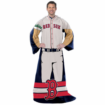 Boston Red Sox Snuggie Blanket