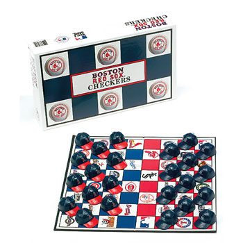 Boston Red Sox vs Yankees Checkers Set