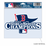 "Boston Red Sox World Series Champs 5x6"" Ultra Decal"