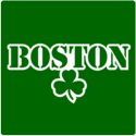 Boston Shamrock Stencil T-Shirt