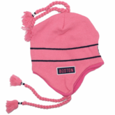 Boston Sherpa Ski Hat - Pink