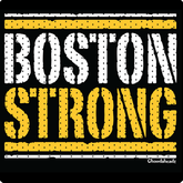 Boston Strong Black & Gold T-Shirt