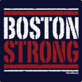 Boston Strong Mesh Design T-Shirt
