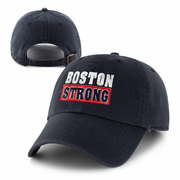 Boston Strong Washed Navy Baseball Cap