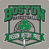 Boston Basketball Passion History Pride T-Shirt